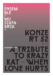kOnZe rt 52 a Tribute tO KraZy Kat – When LOVe Hurts