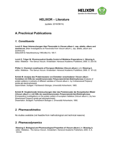 HELIXOR – Literature A. Preclinical Publications