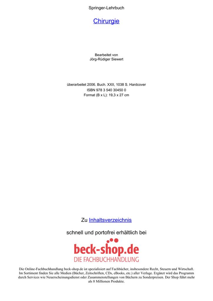 Leseprobe - Beck-Shop