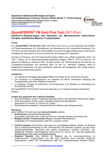 QuantiFERON -TB Gold Plus Test (QFT-Plus)