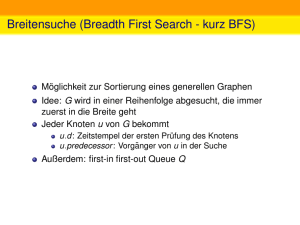 Breitensuche (Breadth First Search