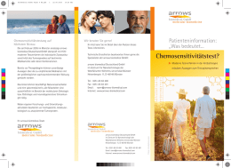 Biomedical Chemo Flyer 9 RZ - arrows biomedical Deutschland GmbH