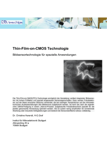 Thin-Film-on-CMOS Technologie