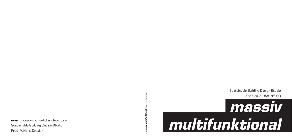 massiv multifunktional