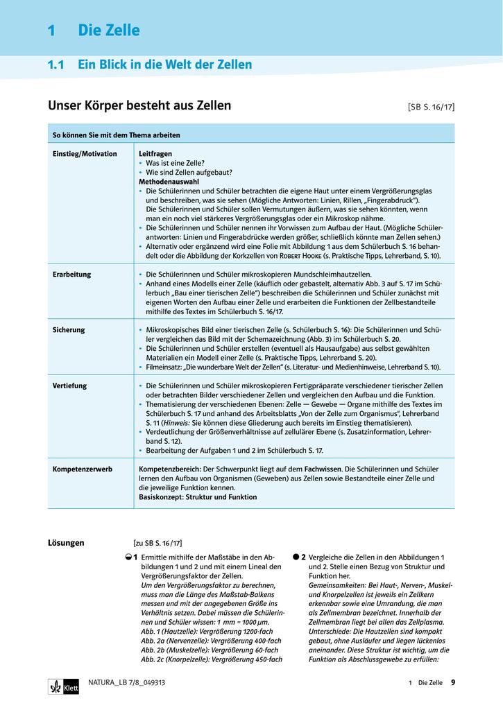 Auszug aus dem Lehrerband 7/8 (049313) (PDF Datei 3 MB)