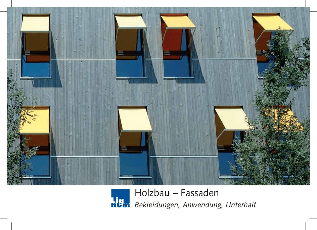 Fassaden - Bader Holzbau