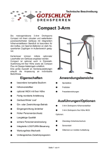 Compact 3-Arm