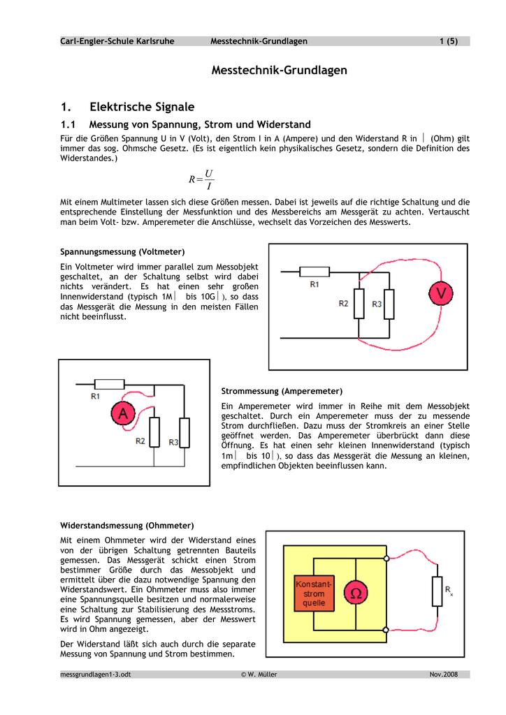 Messtechnik-Grundlagen - Carl-Engler