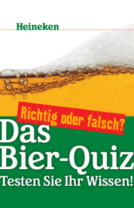 Das Bier-Quiz - Heineken Switzerland