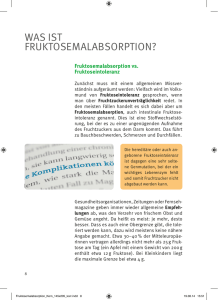 was ist fruktose malabsorption? - content