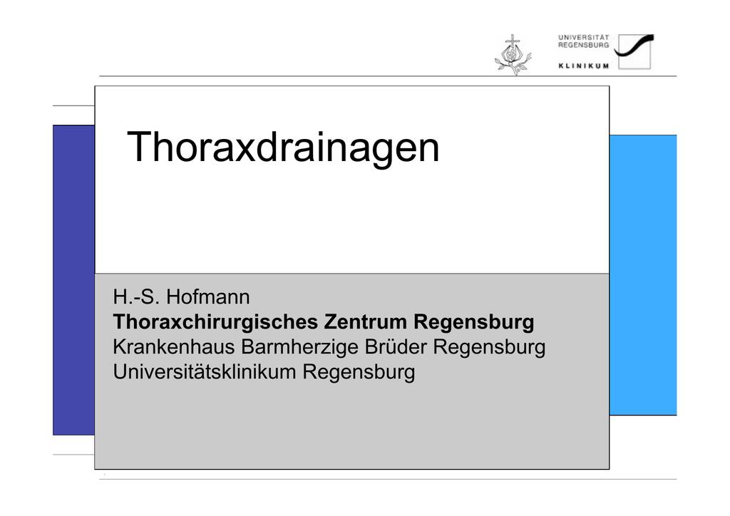 universität klinikum regensburg