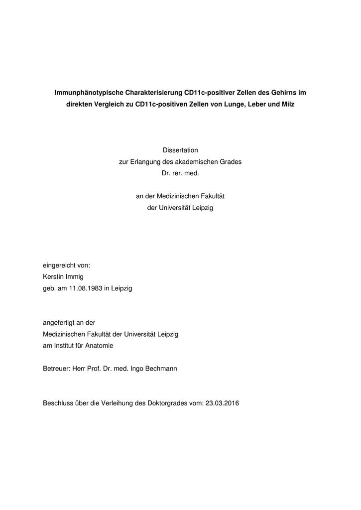 dissertation danksagung dfg