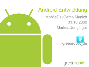 Android - greenrobot