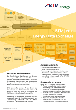 BTM|edx Energy Data Exchange