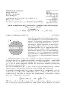 Blatt 4 - Theoretical Physics at University of Konstanz/Theoretische