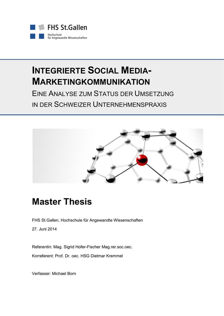 Integrierte Social Media-Marketingkommunikation