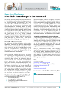 Divertikel - Medical Tribune
