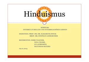 Hinduismus Steckbrief