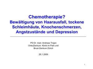 Chemotherapie