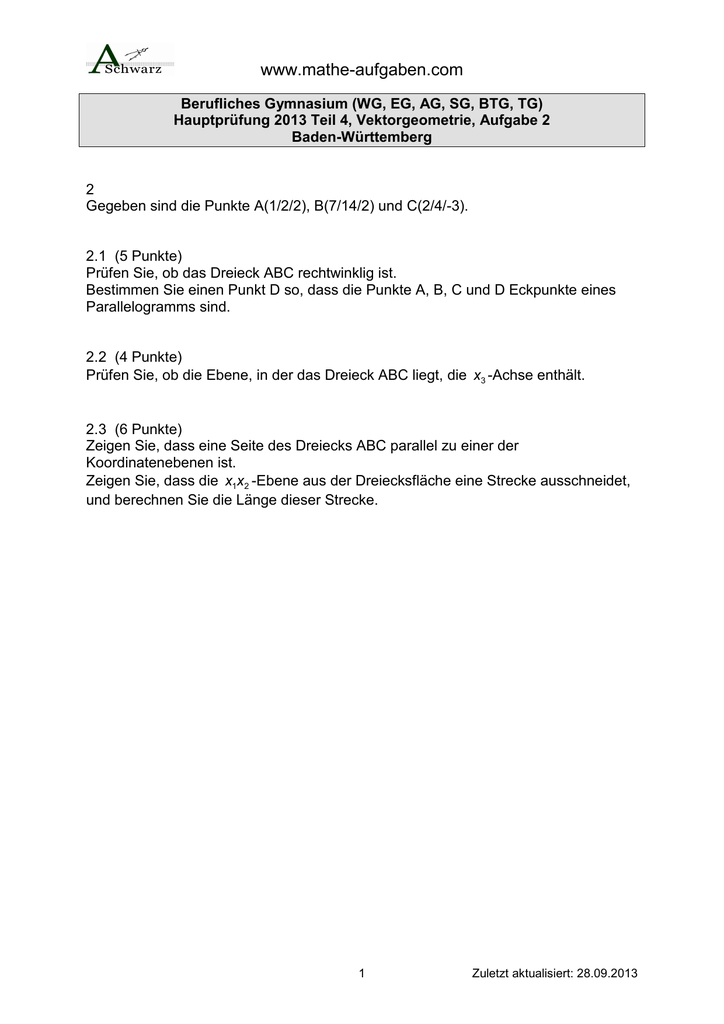 Beste Die Koordinatenebene Arbeitsblatt Antworten Galerie - Super ...