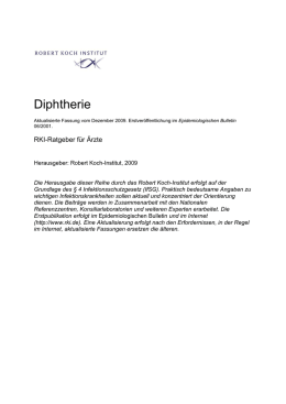 Diphtherie