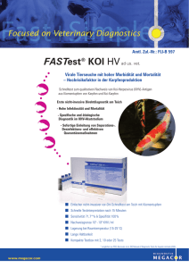 FASTest® KOI HV - MEGACOR Diagnostik GmbH