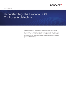 Understanding The Brocade SDN Controller Architecture