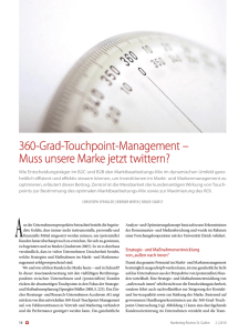 360-Grad-Touchpoint-Management ΠMuss unsere