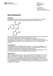 Benzodiazepine mit schnellem Gewichtsverlust