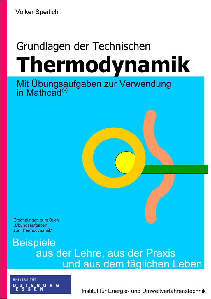 Uni Duisburg-Essen, Grundlagen der Technischen Thermodynamik