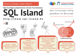 SQL-Island Poster