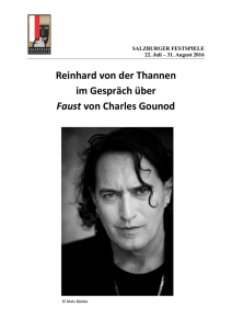 Newsletter Faust