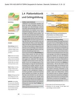Der Pazifische Feuerring, Folge 2, Arbeitsblatt Lösungen