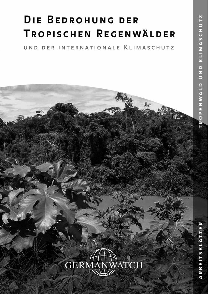 Arbeitsblätter für den Unterricht: Tropische Regenwälder