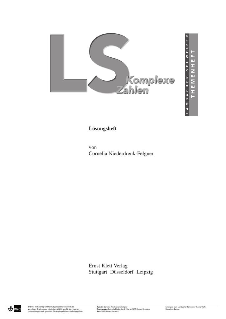 lösungen lambacher schweizer 6