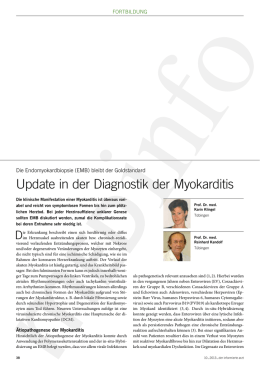 Update in der Diagnostik der Myokarditis