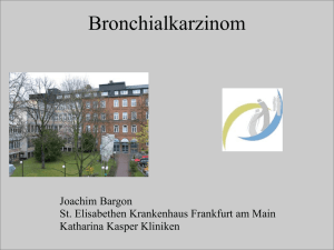 Bronchialkarzinom