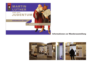 martin luther judentum - Reformationsjubiläum 1517 - 2017