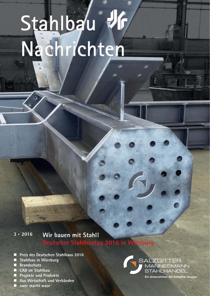 Stahlbau Nachrichten – Aktuelles Heft |