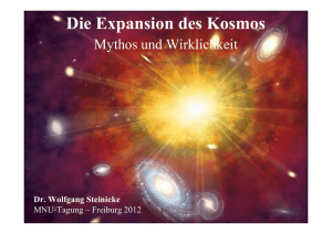 Die Expansion des Universums