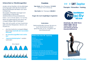 SRT Zeptor - Physiotherapie Jacobi in Moers
