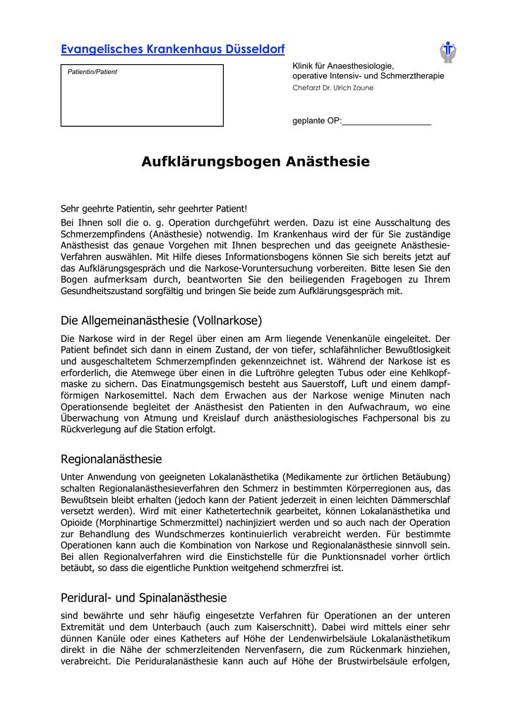 Anästhesie Aufklärungsbogen (135,5 KiB)