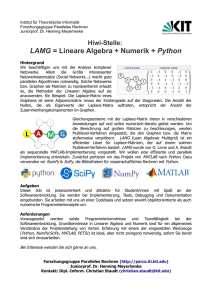 Digitale Signalverarbeitung mit Python