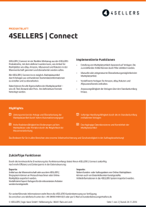 4SELLERS | Connect