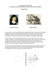 Descartes - philmath.org