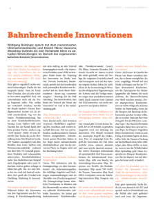 Bahnbrechende innovationen - Branding