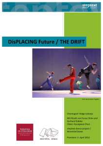 DisPLACING Future / THE DRIFT