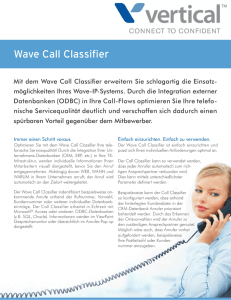 Wave Call Classifier