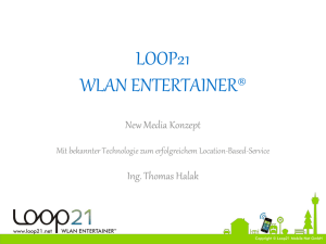 WLAN ENTERTAINER