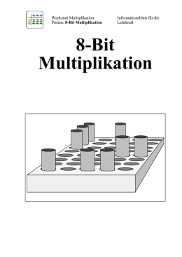 8-Bit Multiplikation